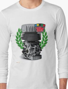 BM Vintage Kart Engine Long Sleeve T-Shirt