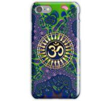Batik Lace Om Shanti iPhone & iPod Case iPhone Case/Skin