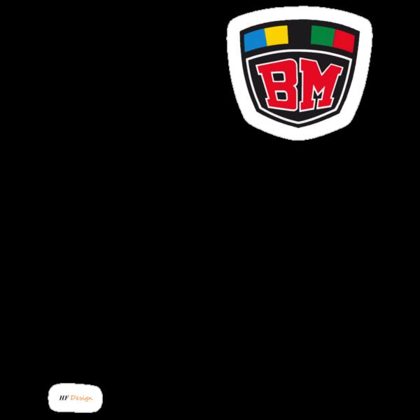 BM Vintage Kart Logo by harrisonformula