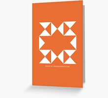 Design 185 Greeting Card