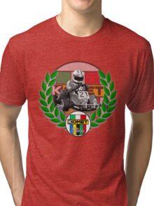 Komet World Champion/Mike Wilson  Tri-blend T-Shirt