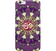 Plum Pink Geometric OM Spirit iPhone & iPod Touch Case iPhone Case/Skin