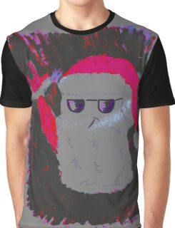 Christmas - the pink Santa Claus Graphic T-Shirt