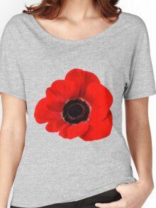 Poppy flower Women's Relaxed Fit T-Shirt