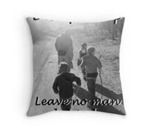 """Discipleship: Leave no man behind"" by Carter L. Shepard Throw Pillow"