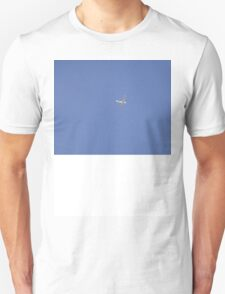 Bubbly Birds in Blue Sky T-Shirt
