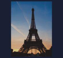 Eiffel Sunset Kids Tee