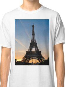 Eiffel Sunset Classic T-Shirt