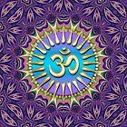 Purple Bohemian OM iPhone &amp; iPod Case by webgrrl