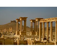 Palymyra in Syria Photographic Print