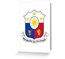 Coat of Arms of the Philippines  Greeting Card
