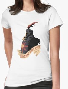 Solaire of Astora Womens Fitted T-Shirt