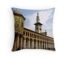 Umayyad Mosque, Damascus Throw Pillow