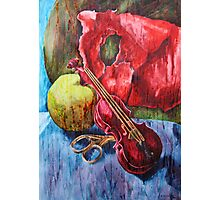 'Cutting Strings' Painting by Rebecca Photographic Print