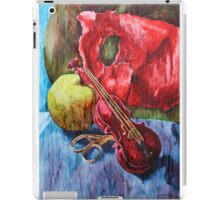 'Cutting Strings' Painting by Rebecca iPad Case/Skin