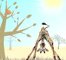 Boo! Says Olympia the Giraffe by Kay Patterson