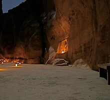 Petra by Night by Citisurfer