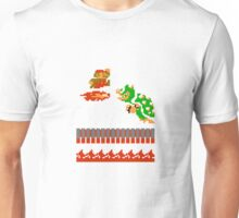 Mario VS Bowser 8-bit Unisex T-Shirt