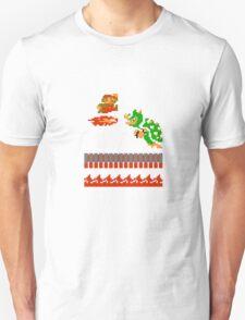 Mario VS Bowser 8-bit T-Shirt