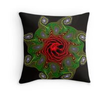 Gnarl Flower 1 Throw Pillow
