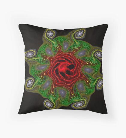 Gnarl Flower 1 Throw Pillow