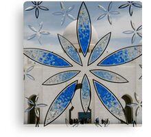 Stained Glass Mosque Canvas Print