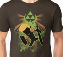 Super Smash Bros. Light Green/Brown Toon Link Silhouette Unisex T-Shirt