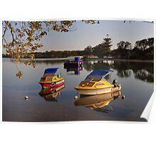 Maroochy River. Maroochydore, Queenslandld, Australia. Poster