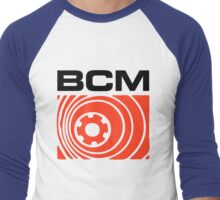 Bedroom Cassette Masters Super Big Logo (black) Men's Baseball ¾ T-Shirt