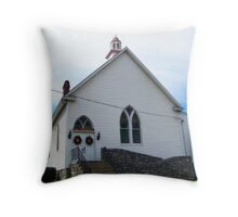 Pleasant Grove Victory Chapel Throw Pillow