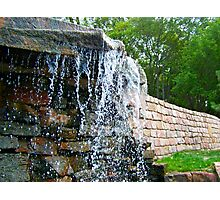 Trickling Waters Photographic Print
