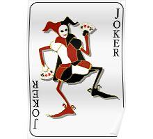 Joker Card Print Poster
