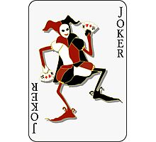 Joker Card Print Photographic Print