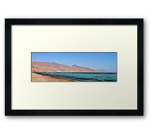 Red Sea in Egypt Framed Print