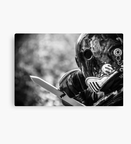 One Man Army Canvas Print