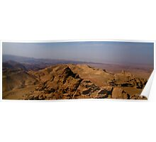 Wadi Araba from Jordan Poster