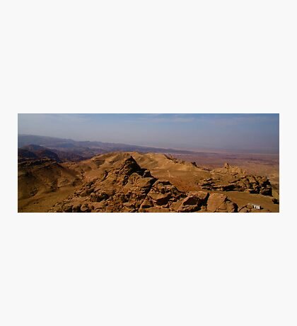 Wadi Araba from Jordan Photographic Print