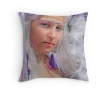 Princess Purple Throw Pillow
