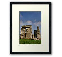 Stone Henge #1 Framed Print