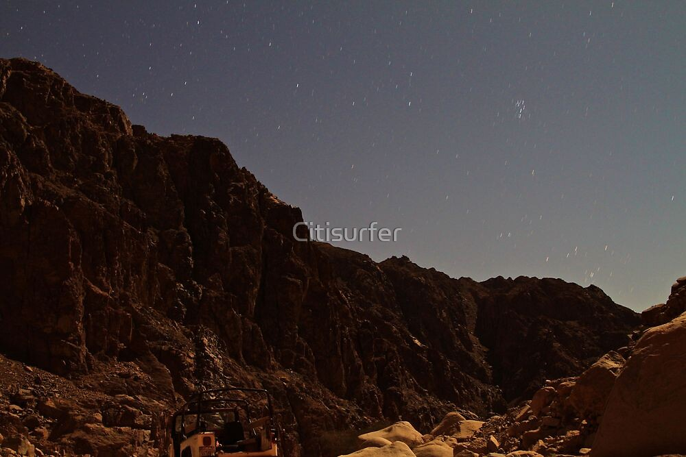 Star Trails in the Night by Citisurfer