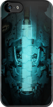 Dead Space 3 Themed - iPhone Case by HostMigration