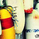 Lobstah Buoys by milkayphoto