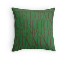 Slytherin (Harry Potter) Throw Pillow