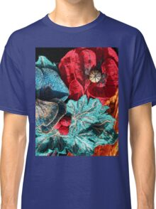 Poppy Machine Embroidery no.4 Classic T-Shirt