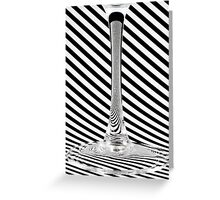 Black & White Greeting Card