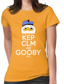 Kep Clm an Gooby Pls Womens Fitted T-Shirt