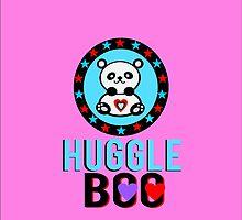 ♥ټSuper Cute Panda Huggle-Boo iPhone & iPod Casesټ♥ by Fantabulous