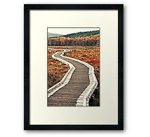 The Bridge (Muir of Dinnet, Aberdeenshire, Scotland) Framed Print