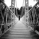 Suspension Bridge (Cambus O' May, Aberdeenshire) by MelissaSue