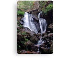 Waterfall (Burn O Vat, Aberdeenshire) Canvas Print
